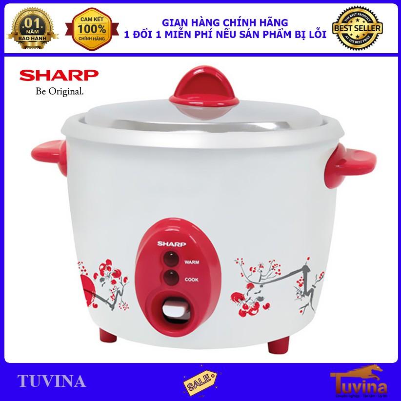 Nồi Cơm Điện Sharp 2.2 Lít KSH-D22V - Nắp Rời - Hàng Chính Hãng (Bảo Hành 12 Tháng)