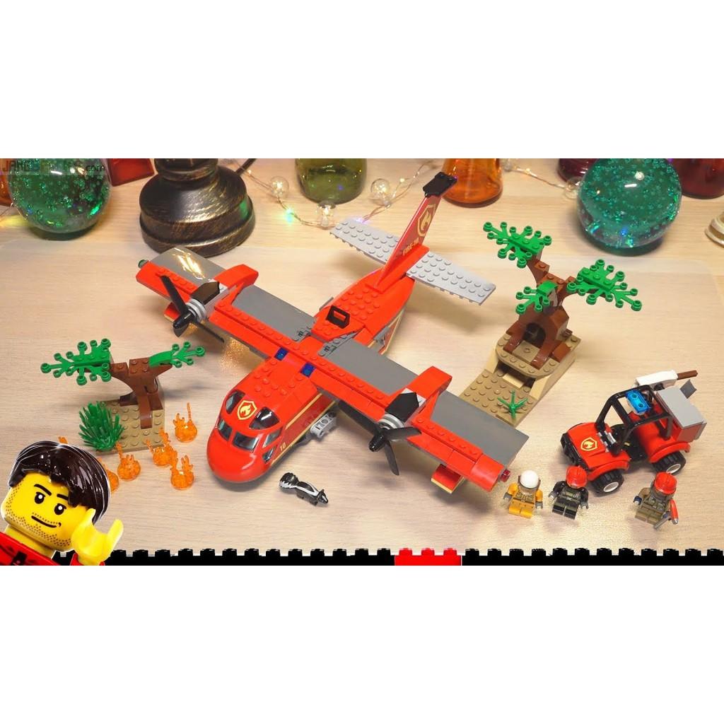 LEGO CITY - 60217 - Máy Bay Cứu Hỏa Rừng
