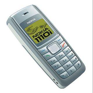 ĐIỆN THOẠI NOKIA 1110i chính hãng cũ 99% ( tặng kèm pin và sạc )