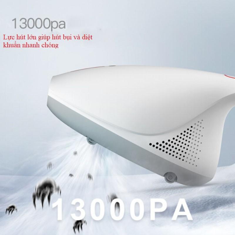 [Mã 267ELSALE hoàn 7% đơn 300K] Máy Hút Bụi Giường Nệm Sofa Diệt Khuẩn Deerma CM800