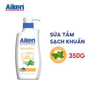 [Mã AIKE20149 giảm 20K đơn 149K] Aiken Sữa Tắm Sạch Khuẩn Chiết Xuất Bạc Hà 350g thumbnail