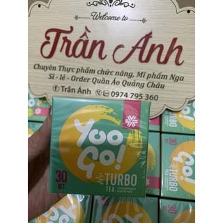 Thực phẩm bảo vệ sức khỏe Trà thảo mộc YOO GO Turbo tea (Thải độc, giảm cân) mẫu mới của trà T body