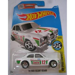 Xe mô hình Hot Wheels '70 Ford Escort RS1600 DHX59
