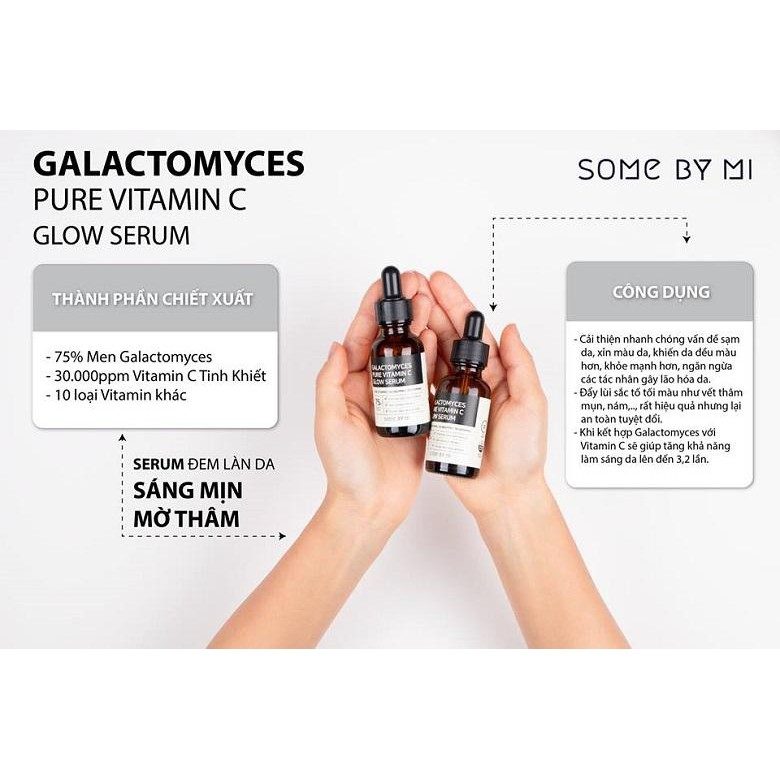 Serum Trị Thâm Some By Mi Galactomyces Pure Vitamin C Glow | Shopee Việt Nam