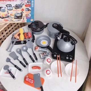 Bộ đồ chơi nấu ăn 36 chi tiết dành cho bé.