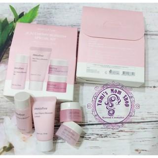 Bộ dùng thử hoa anh đào Innisfree Jeju Cherry Blossom special kit thumbnail