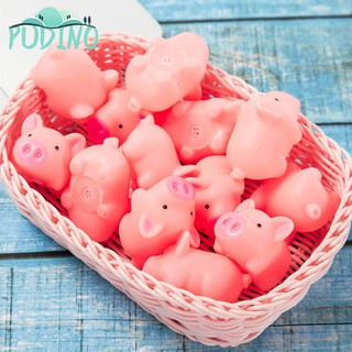 ∫ Great Toy Pink Cartoon Pig Sounding Silicone for Pressure Relieve Trick