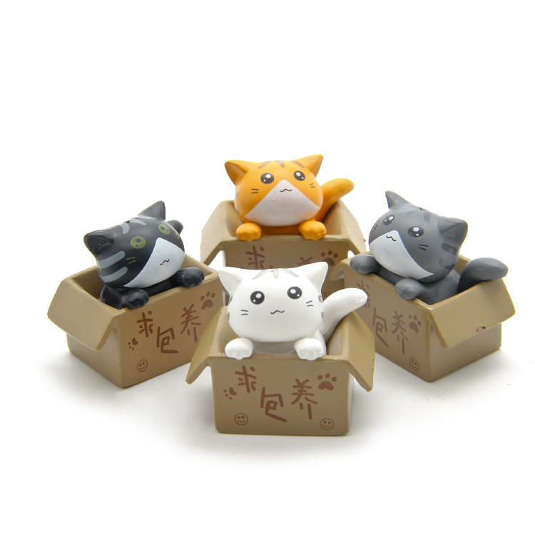 Móc Khóa/Móc Điện thoại Mèo chii trong hộp - 00118