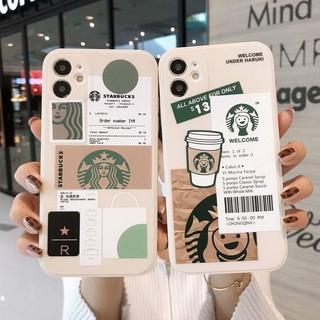 Ốp lưng OPPO A54 A53 A15 A15S A93 A92 A52 A12 A12e A9 A7 A5 A5S A3S A1K Realme 6i 5 5i C2 C1 Pro 2020 Coffee Girl Protect Camera Soft TPU Case