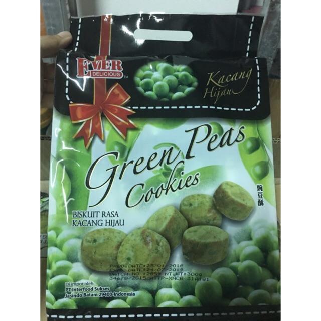 Bánh quy đậu xanh Ever Green Peas Cookies 300g - 10073157 , 1044655277 , 322_1044655277 , 85000 , Banh-quy-dau-xanh-Ever-Green-Peas-Cookies-300g-322_1044655277 , shopee.vn , Bánh quy đậu xanh Ever Green Peas Cookies 300g