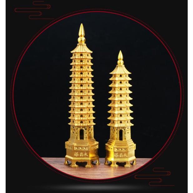 Tượng Đồng Lớn: Tháp Văn Xương - Biểu tượng của trí tuệ, văn học - Vật Phẩm trang trí phong thủy, tài lộc