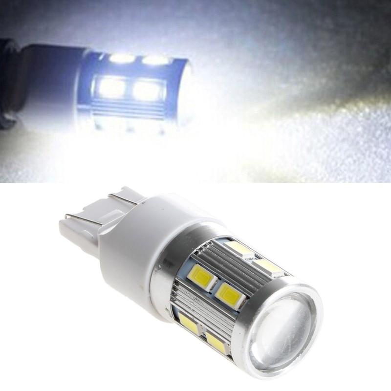 7443 5630 12 LED  6000K Bulb Car Tail Lamp Brake Stop White Light