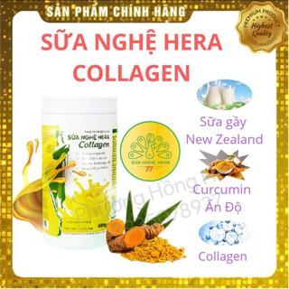 Sữa Nghệ Hera Collagen 500g Tốt Cho Người Đau Bao Tử, Mẹ Sau Sinh Đẹp Da, Lợi Sữa thumbnail