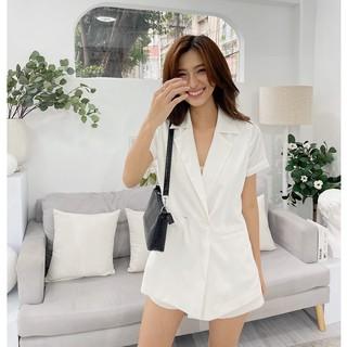 Áo khoác Blazer HEYBEE có 2 cúc (3 màu), chất liệu vải cotton lạnh siêu mát - OLIVINE BLAZER HT670 thumbnail