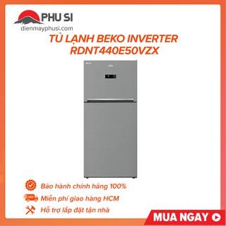 Tủ Lạnh Beko Inverter RDNT440E50VZX