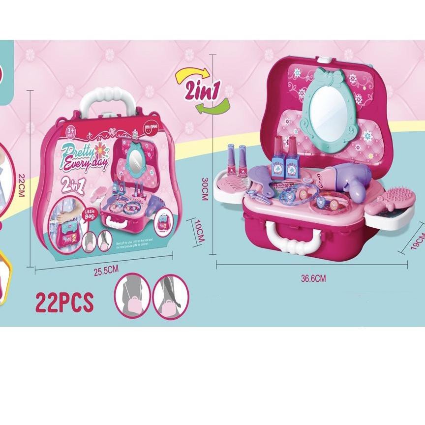 Bộ đồ chơi mỹ phẩm 668-63A giáo dục cho bé