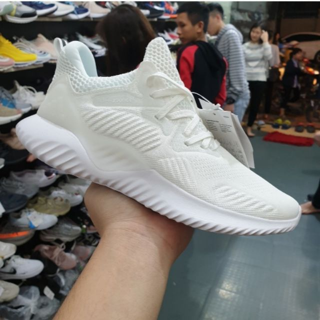 Giày thể thao Alphabounce trắng full