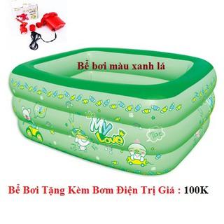 ( SỈ/LẺ ) Bể bơi 3 tầng 1 m 8 tặng kèm bơm bể . .
