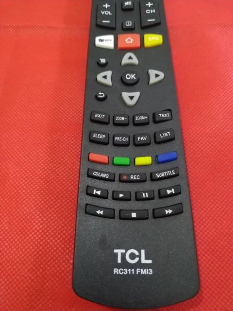 REMOTE ĐIỀU KHIỂN TIVI TCL LED LCD SMART TCL M13