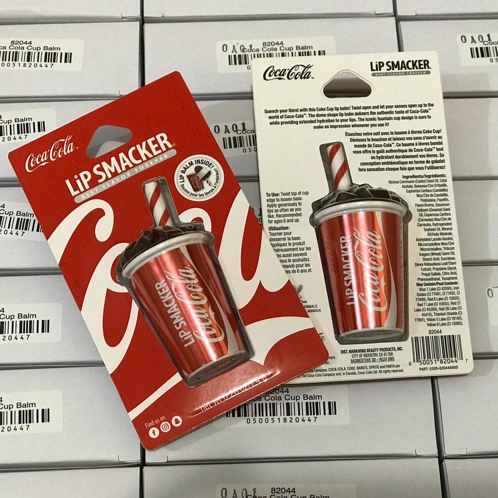 [Có sẵn] Son Coke dạng Cốc vị Coca Cola - Coca-Cola Cup Lip Balm (chính hãng có hóa đơn)