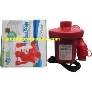 Bơm điện Wenbo bơm điện đỏ đệm hơi bể bơi -giadunghn
