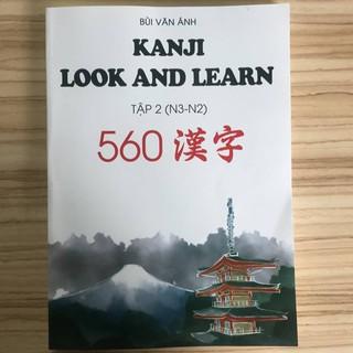 Sách học tiếng Nhật Kanji Look and Learn N3 và N2 – Sách Bài học Tập 2 – Nhật Việt