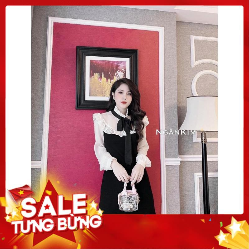 [Hàng loại 1]Đầm Bầu Váy Bầu cao cấp dáng Xuông Chất Lụa Hàn Mềm, siêu mát Thấm Mồ Hôi Tốt, Freesize từ 45 đến