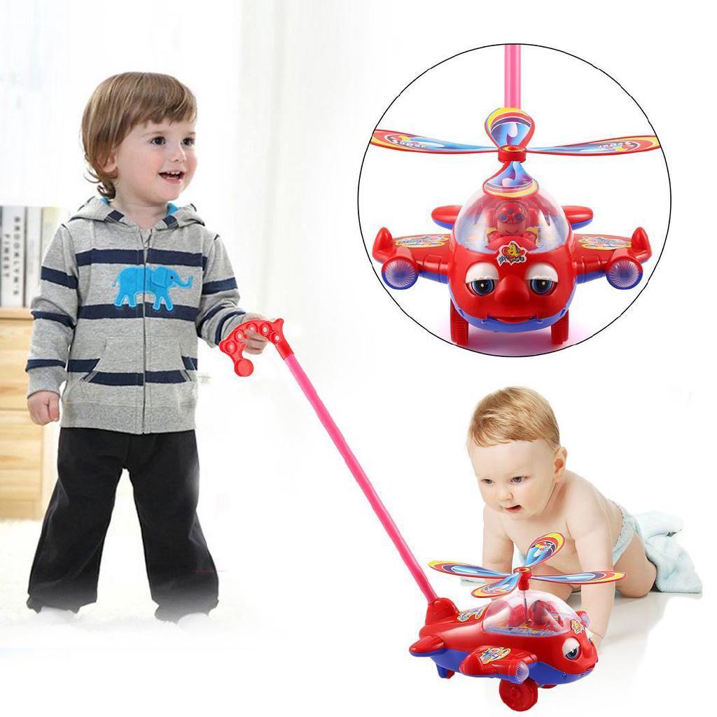 Se Xe điện xoay không khí đáng yêu Mô hình máy bay Quà tặng cho trẻ em