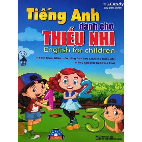 Sách -Tiếng Anh Dành Cho Thiếu Nhi 4 - 7 Tuổi ( Kèm CD)