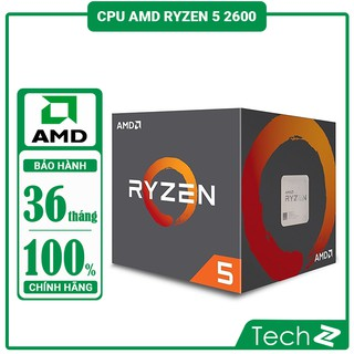 Bộ vi xử lý CPU AMD RYZEN 5 2600 (3.4GHz Up to 3.9GHz, AM4, 6 Cores 12 Threads)