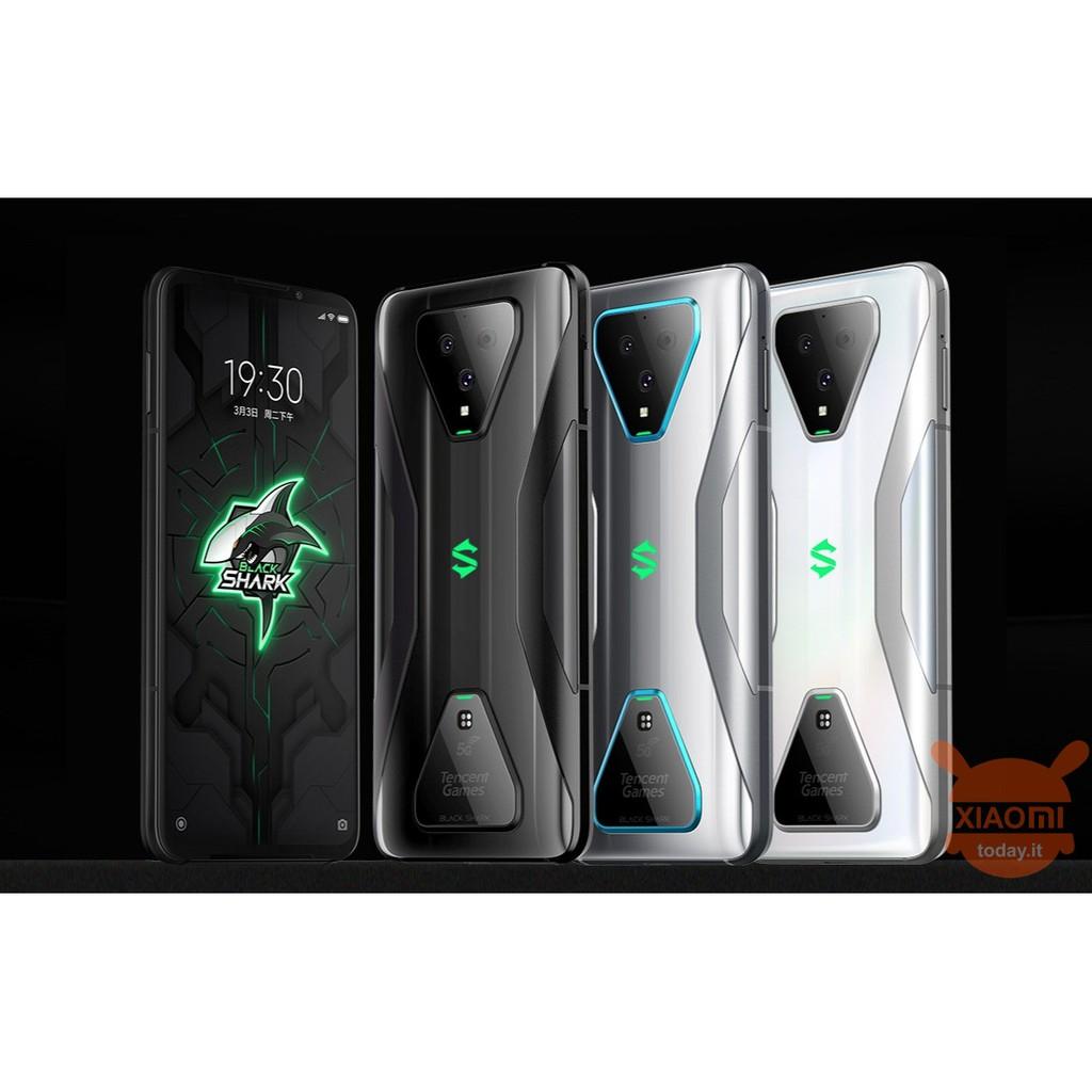 Điện thoại Xiaomi Black Shark 3 128Gb Ram 8Gb mới 100% - Hàng nhập khẩu