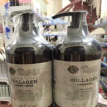 Bộ dầu gội xả Mefaso Collagen (chai 850 ml 1 cặp 2 chai 1.700ml) - 3520877 , 734587967 , 322_734587967 , 538000 , Bo-dau-goi-xa-Mefaso-Collagen-chai-850-ml-1-cap-2-chai-1.700ml-322_734587967 , shopee.vn , Bộ dầu gội xả Mefaso Collagen (chai 850 ml 1 cặp 2 chai 1.700ml)