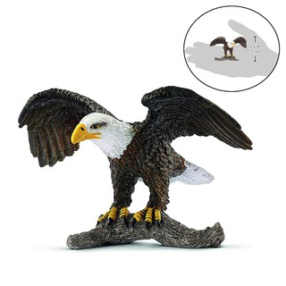readystock 3.3inch Bald Eagle Wild Life Toy Figurine PVC Figures 14780 NEW