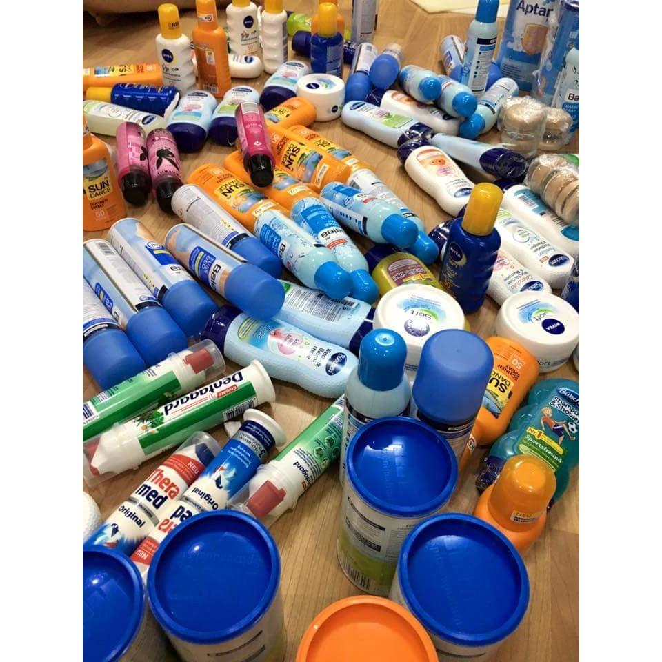 kem chống nắng và tất cả các sản phẩm chăm sóc da