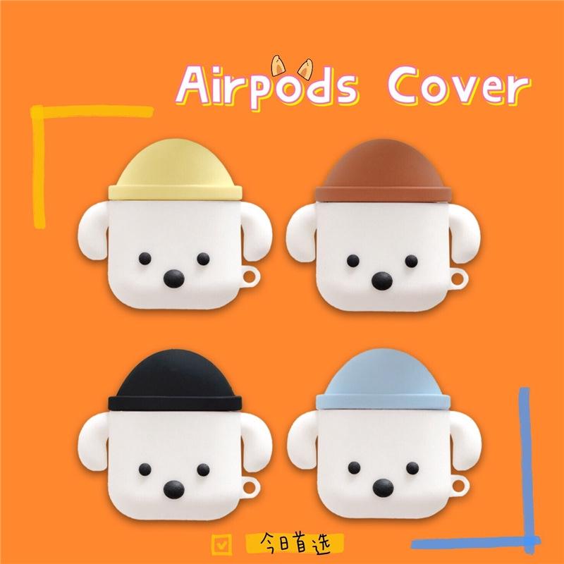 ญี่ปุ่นและเกาหลีใต้ ins ลูกสุนัขรูปร่าง airpods 1/2 รุ่นฝาครอบป้องกัน