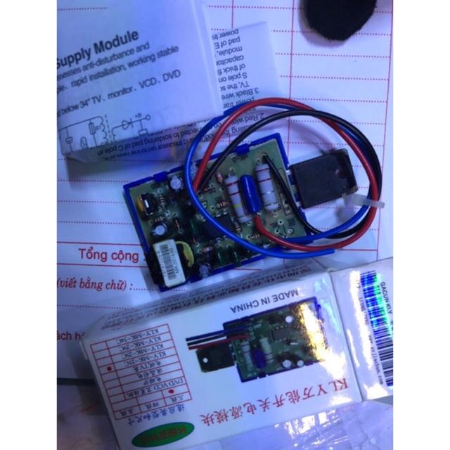 Bo mạch nguồn KLY cho TV, máy Fax, dvd, vcd - 3382852 , 982865648 , 322_982865648 , 45000 , Bo-mach-nguon-KLY-cho-TV-may-Fax-dvd-vcd-322_982865648 , shopee.vn , Bo mạch nguồn KLY cho TV, máy Fax, dvd, vcd