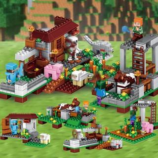 Lego Minecraft Mô Hình Lắp Ráp 4in1 390 Chi Tiết