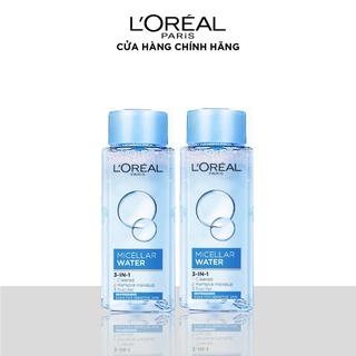 Bộ 2 nước tẩy trang mềm mịn da 3-trong-1 L Oreal Paris Micellar Water 30ml x 2 thumbnail