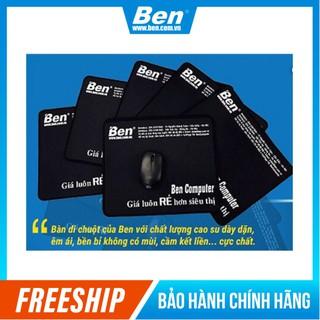 [Mã ELFLASH3 hoàn 10K xu đơn 20K] Miếng Lót Chuột Ben Computer - Lót chuột may viền 25 x 30 cm Dày dặn di chuyển mượt mà thumbnail