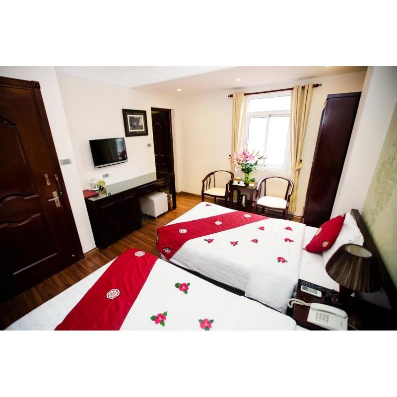 Hà Nội [Voucher] - Hà Nội Central Park Hotel 3sao Phòng Deluxe 2N1Đ Ăn sáng Buffet cho 02 người