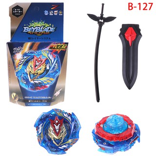 Beyblade burst B-127 starter set with launcher grip kids gift toys