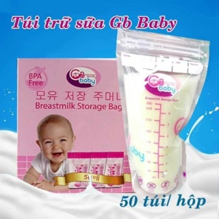 Túi trữ sữa Gb Baby mua 3 tặng 1
