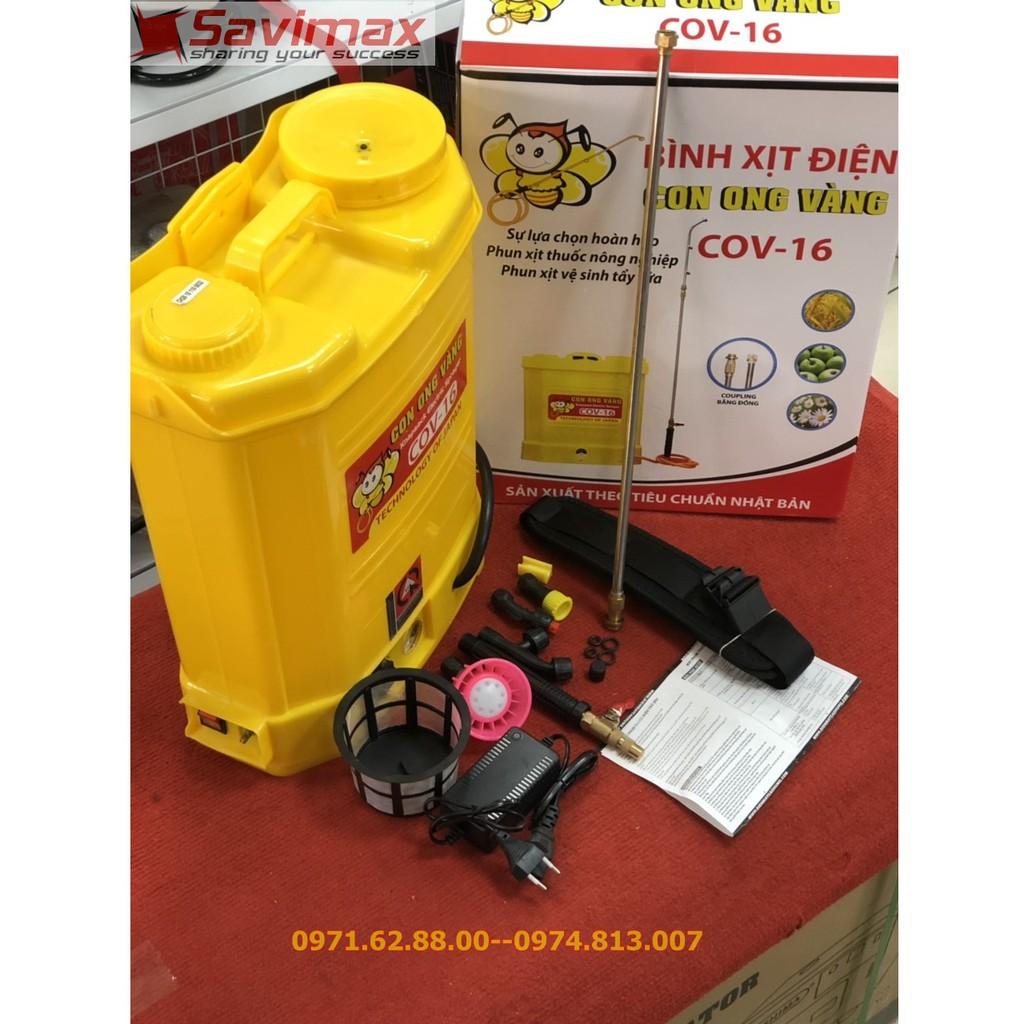 Bình xịt thuốc con ong vàng 16L, Bình phun thuốc COV 16L