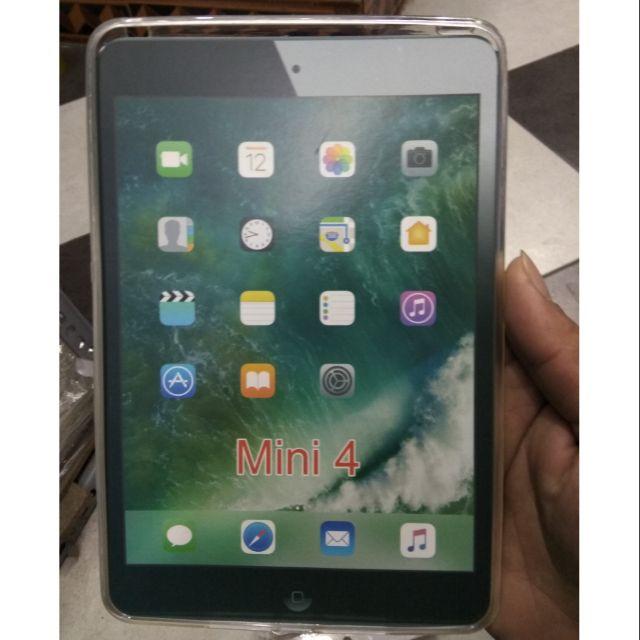 Ốp dẻo silicon iPad mini 4