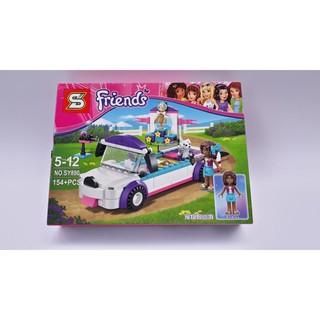 Xếp hình Lego bé gái Friends