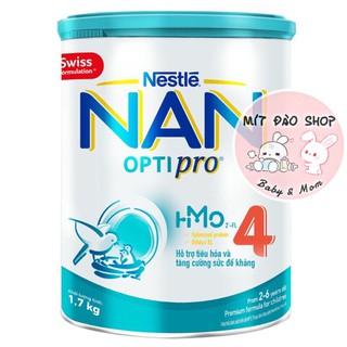 [MẪU MỚI HMO] - Sữa Bột Nestle NAN Optipro 4 1.8kg 1.7kg mới thumbnail