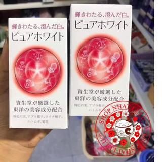 Pure White shiseido dạng viên 240 Viên Uống Trắng Da Mờ nám Nhật Bản thumbnail