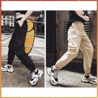 1hitshop Quần jogger kaki túi hộp pant box nam nữ, quần kaki jogger túi hộp unisex 3 màu