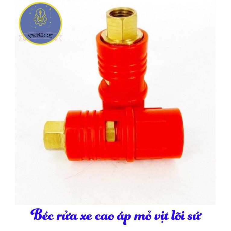 Béc rửa xe cao áp mỏ vịt lõi sứ 1.5 mm - 1.8 mm - 2 mm