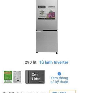 Tủ lạnh Inverter Panasonic 290 lít NR-BV329QSVN